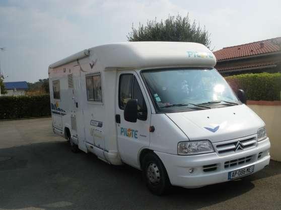 Annonce occasion, vente ou achat 'camping car pilote pacific 690 2L8 128cv'