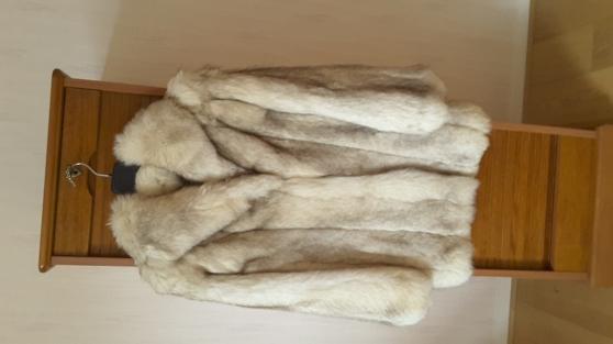 Manteau fourrure renard argent v tements femme fourrures - Code postal herblay ...