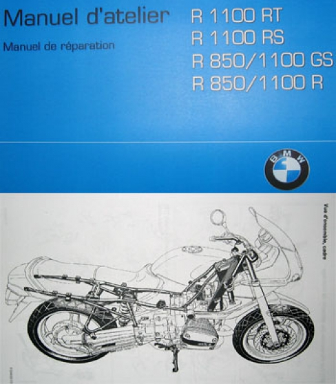 Manuel atelier BMW R1100 R850 R RT RS GS