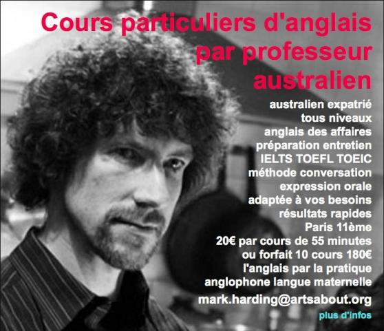 australien donne cours d'anglais - Annonce gratuite marche.fr