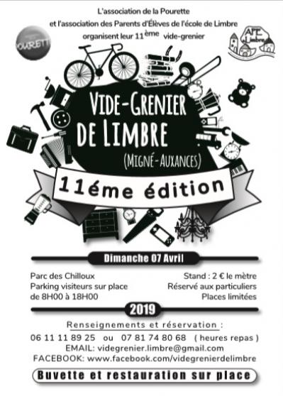 vide-grenier de limbre - Annonce gratuite marche.fr