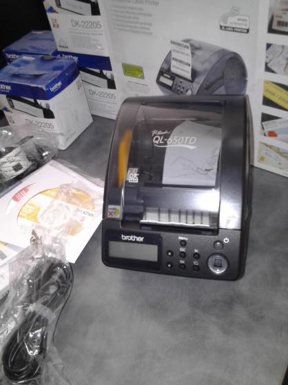 imprimante d'étiquettes pro. brother - Annonce gratuite marche.fr