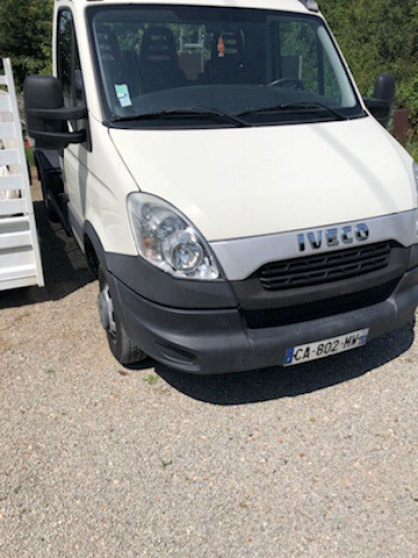 Iveco 35c13 polybenne ampiroll