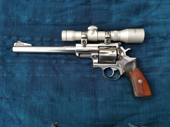 Annonce occasion, vente ou achat 'vends, ruger super redhawk 44mag'