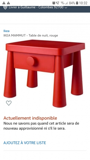 armoire commode et table de chevet - Photo 2