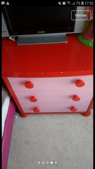 armoire commode et table de chevet - Photo 3