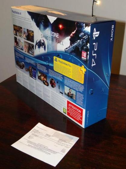 Sony PlayStation 4, 500Go