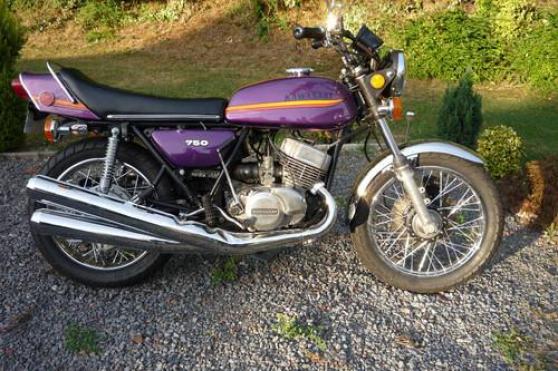 Annonce occasion, vente ou achat 'Kawasaki 750 h2 1973'