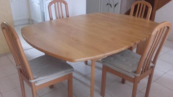 Tabel et chaises séjour / salle à manger