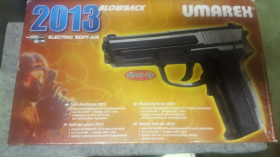 Annonce occasion, vente ou achat 'Pistolet Soft-air 2013 neuf...'