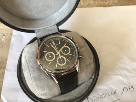 Annonce occasion, vente ou achat 'Tag heuer Carrera chronograph Jack Heuer'