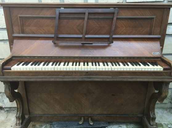 Annonce occasion, vente ou achat 'Piano droit chêne'