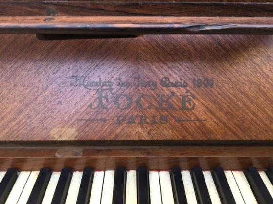 Piano droit chêne - Photo 2
