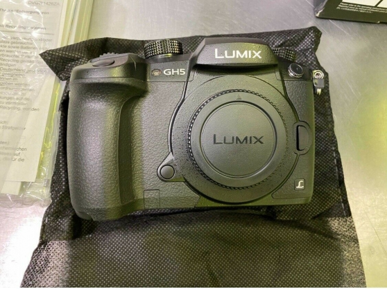 Panasonic LUMIX DC-GH5 - Noir (Boîtier)