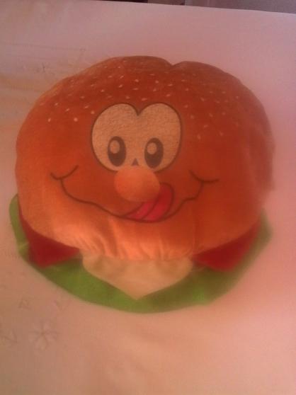 Peluche hamburger
