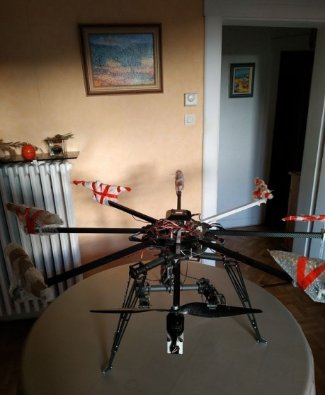 Annonce occasion, vente ou achat 'Drone Mikrokopter Octo RTF'