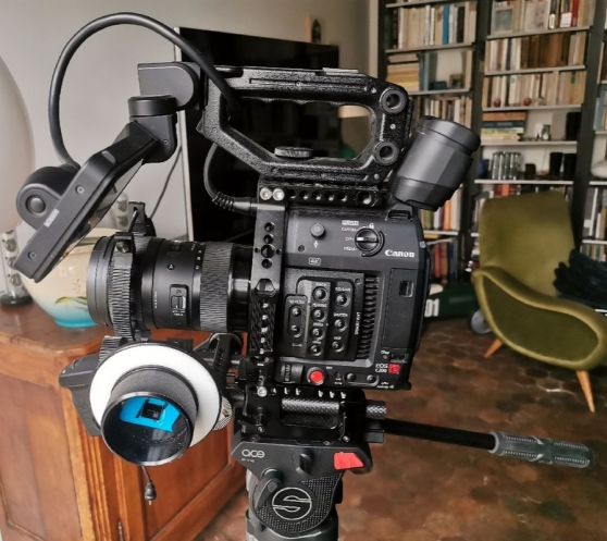 Annonce occasion, vente ou achat 'Canon c200 + cage; batterie 3x ; cfast'