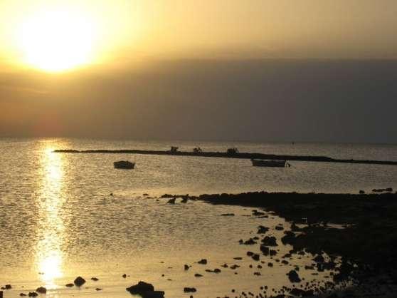 Terrain vue mer avec titre permis batir