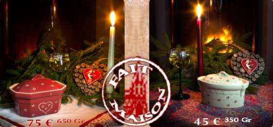 Foie Gras Artisanal pour Noël et Nouvel