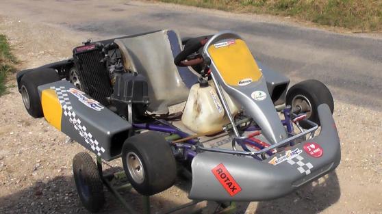 Karting Rotax Max 125 chassis Kosmic