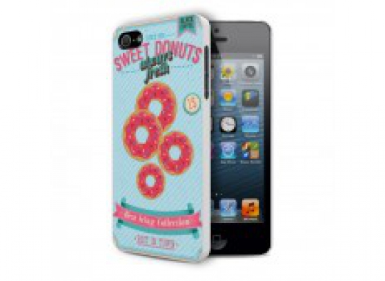 Coque iPhone 5/5S Vintage Donuts