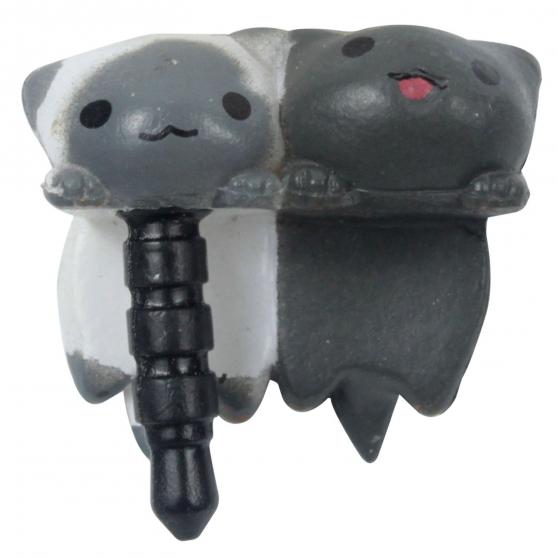 Chat anti-poussière prise écouteurs - Photo 2