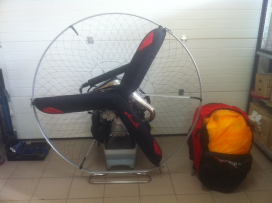 Annonce occasion, vente ou achat 'Paramoteur complet Xrace 200 Neuf'