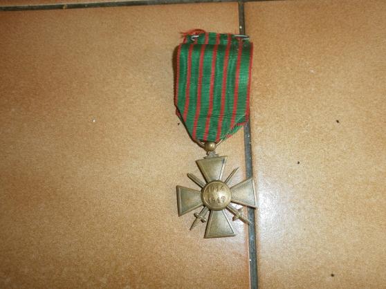croix de guerre  14/17 avec une citation - Annonce gratuite marche.fr