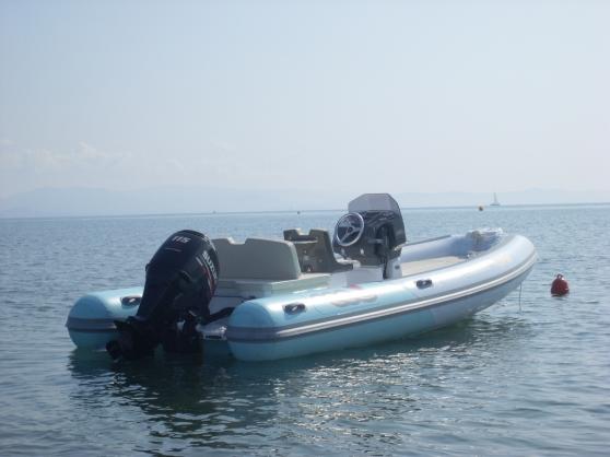 Loue bateau 570 avec moteur de 115 cv