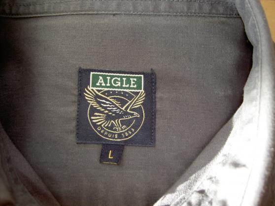 chemise aigle couleur gris foncée... - Annonce gratuite marche.fr