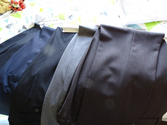 Pantalons et costume grande taille
