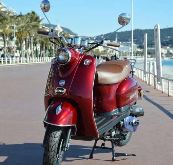 scooter oldies 50 bordeaux garantie