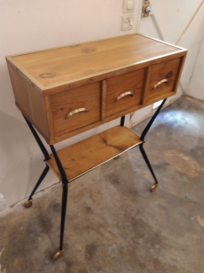 Commode industrielle vintage