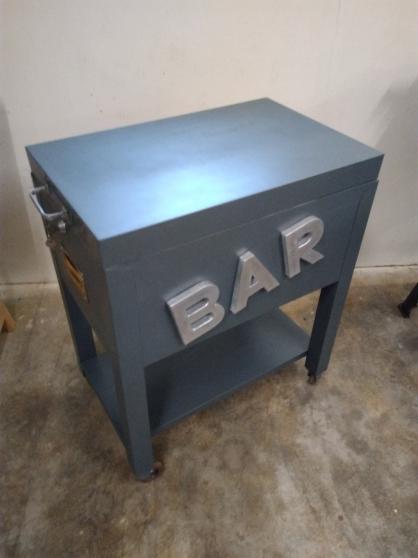 Bar industrielle vintage