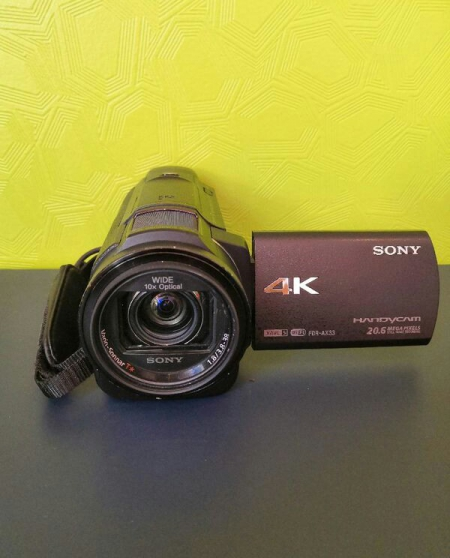 Annonce occasion, vente ou achat 'Sony Handycam FDR - AX33'