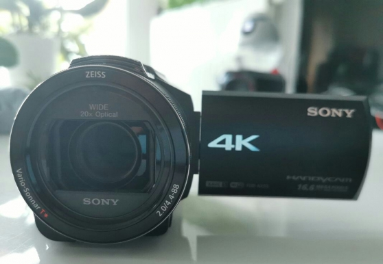 Annonce occasion, vente ou achat 'Camescope Sony ax53 garantie 1 an'