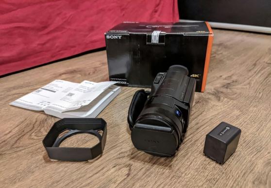 Annonce occasion, vente ou achat 'Camescope Sony handycam AX-100'