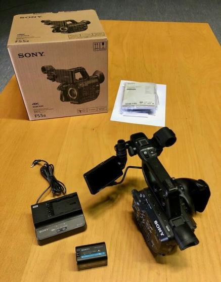 Annonce occasion, vente ou achat 'Sony pxw-fs5m2 4k XDCAM Caméscope mk2 MK'