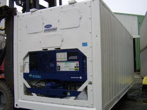 Containers frigorifique 20 & 40 Pieds