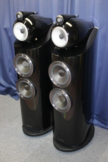 B& W 803 D3 Diamond Speakers Gloss BLACK
