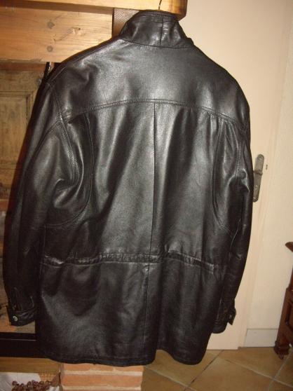 Veste cuir taille 50 - Photo 2