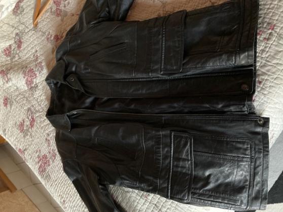 Veste cuir taille 50 - Photo 3