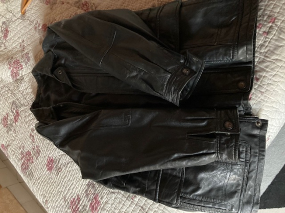 Veste cuir taille 50 - Photo 4