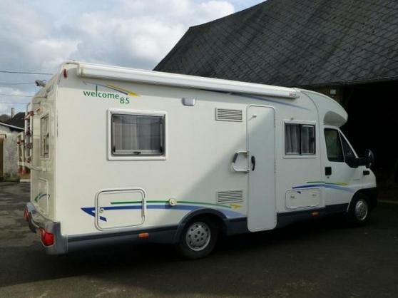 chausson welcome citroen jumper 128 caravanes camping car camping car dijon reference car. Black Bedroom Furniture Sets. Home Design Ideas