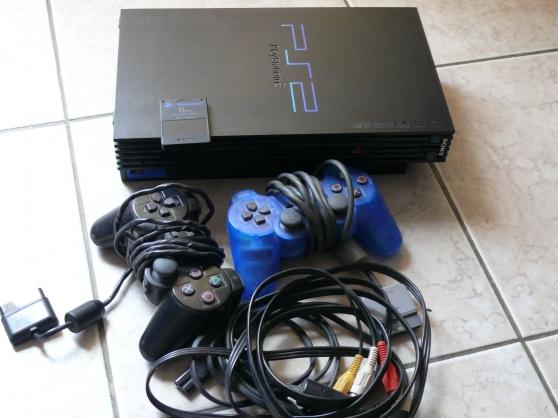 Console PS2 + 19 jeux
