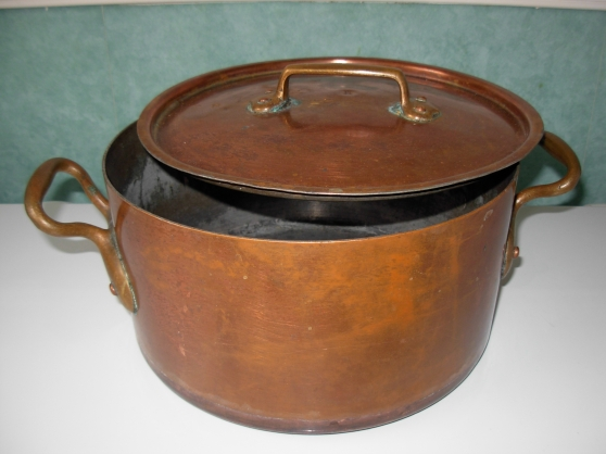 Annonce occasion, vente ou achat 'marmite en cuivre'