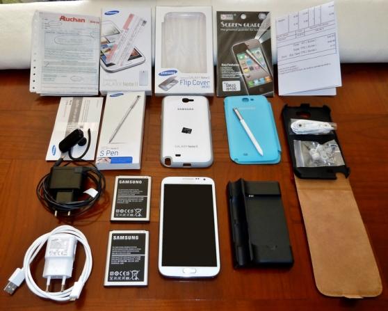 Samsung Galaxy Note2, débloqué origine