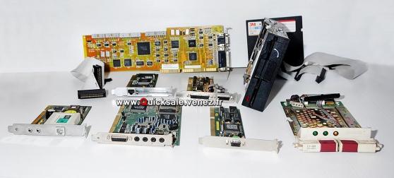 Pièces informatiques Carte ISA, PCI, AGP