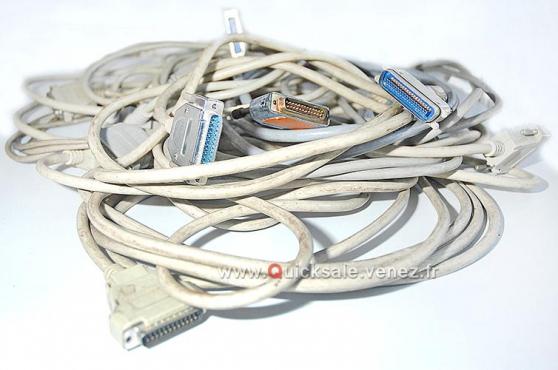 Câbles parallèle 6ft IEEE-1284 DB25 M/F