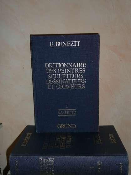 Annonce occasion, vente ou achat 'le bénézit cote des peintres 10 volumes'